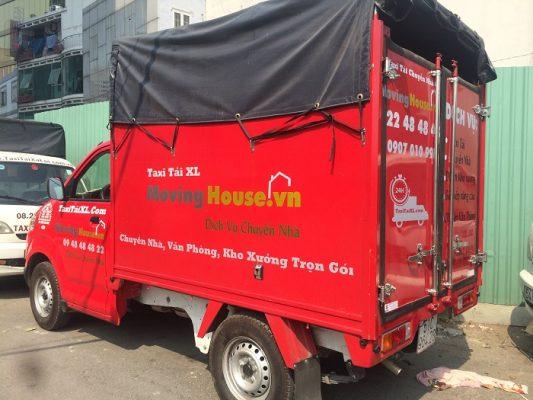 Taxi tải chuyển nhà trọn gói của công ty dịch vụ chuyển nhà Xá Lợi