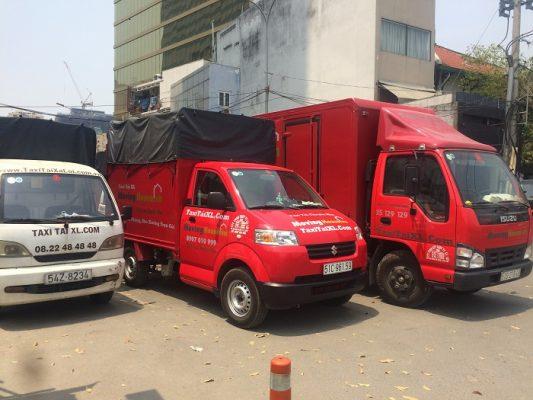 Hệ thống taxi tải chuyển nhà trọn gói của công ty Xá Lợi