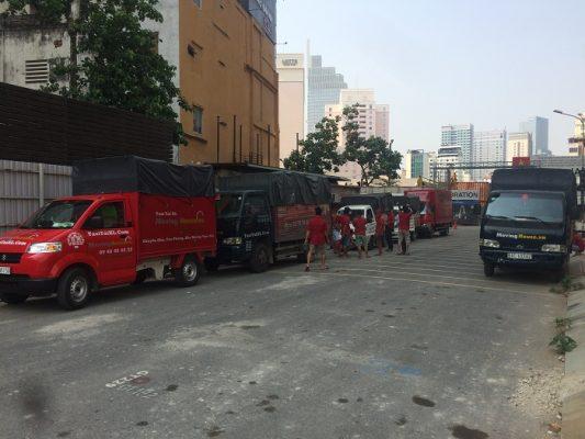Taxi tải chuyển nhà trọn gói của công ty Xá Lợi thành phố Hồ Chí Minh