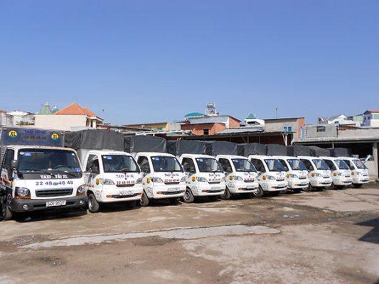 xe taxi tải công ty chuyển nhà Xá Lợi