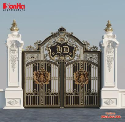 Bạn có yêu thích thiết kế cổng nhà này
