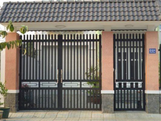 mẫu cửa cổng 2 cánh đẹp