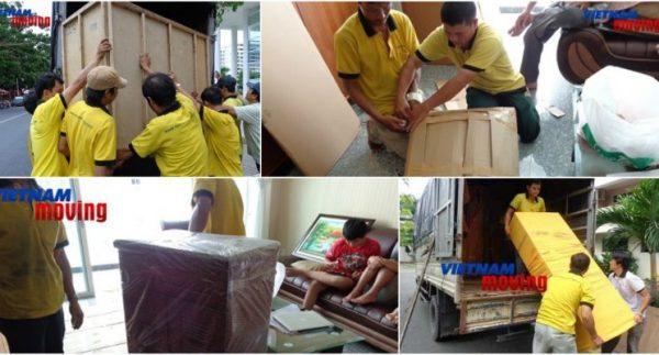 Dịch vụ chuyển nhà trọ giá rẻ tại Vietnam Moving