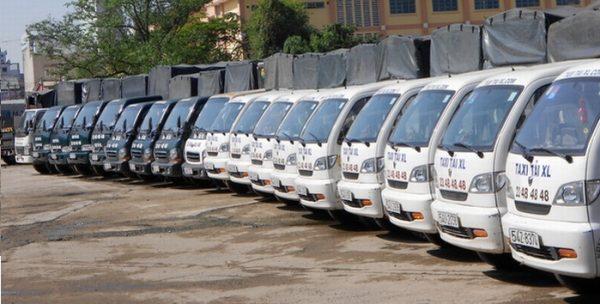 Dịch vụ chuyển nhà trọn gói Công Ty Vận Tải Xá Lợi có hệ thống xe tải chuyên chở hàng hóa chuyên nghiệp