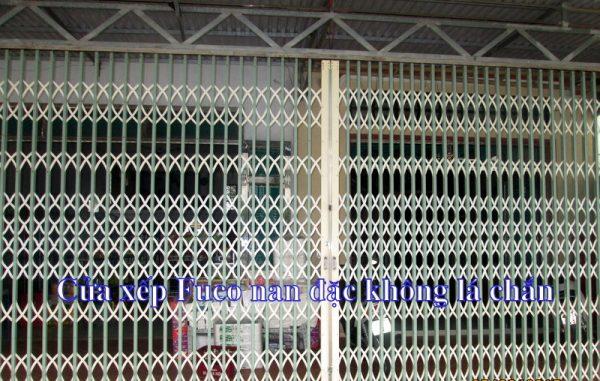 Cửa xếp Đài Loan giá rẻ không lá
