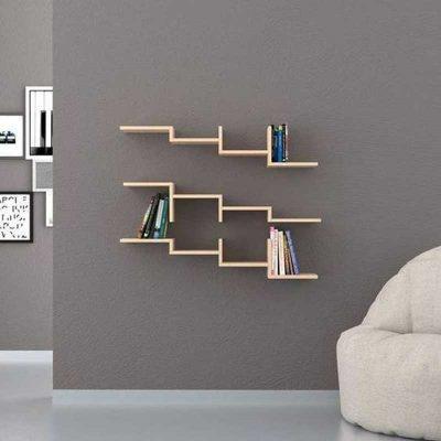 Thiết kế đơn giản nhất có thể, vừa để vài quyển sách và đồ dùng