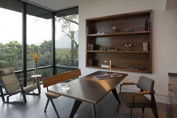 Ô trang trí âm tường thường nới rộng không gian và tiết kiệm diện tích cho phòng khách