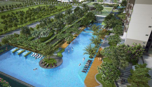 Phối cảnh tiện ích nội khu dự án Vista Verde