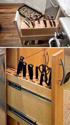 14 cách thông minh để dễ dàng sắp xếp tủ bếp gọn gàng, đẹp mắt
