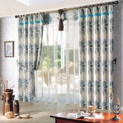 3 mẫu rèm vải phòng khách đẹp,và những lưu ý khi chọn lựa.