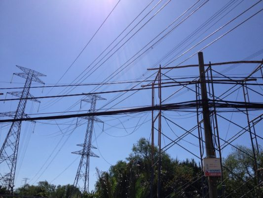 Thi công di dời lưới điện qua khu đô thị Nhà Bè GS Metrocity