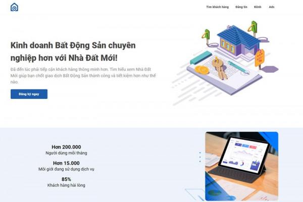 Nhà Đất Mới - Sàn thương mại điện tử bất động sản hàng đầu Việt Nam
